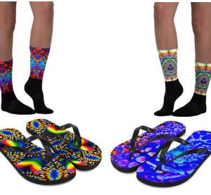 Socks & Flip Flops